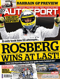 AUtosport magazine cover 190412