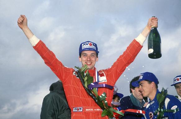 Marcel Albers British F3 1992