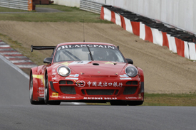Matt Halliday, Mike Parisy, Exim Porsche, Zolder GT1 2012