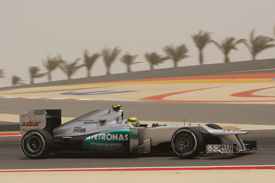 Nico Rosberg, Mercedes, Sakhir 2012