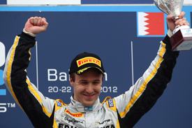 Davide Valsecchi wins at Sakhir 2012