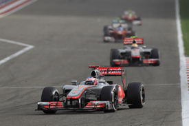 Jenson Button, McLaren, Sakhir 2012