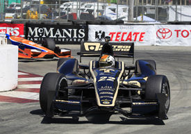 Oriol Servia, Dreyer &amp; Reinbold, Long Beach 2012
