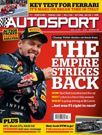 Magazine cover 260412
