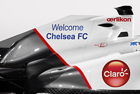 Sauber confirms Chelsea FC deal