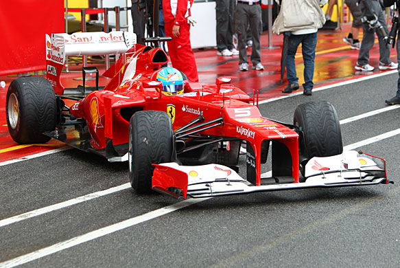 Fernando Alonso, Ferrari, Mugello test