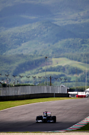 Bruno Senna, Williams, Mugello testing