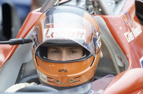 Gilles Villeneuve Ferrari 1981 Grand PRix