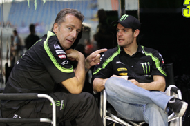 Poncharal has overseen Crutchlow's rise in MotoGP