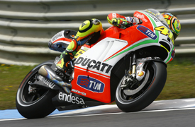 Valentino Rossi, Ducati, Estoril 2012