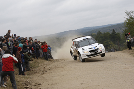 Andreas Mikkelsen, VW Skoda, Argentina 2012