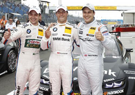 Lausitz DTM qualifying