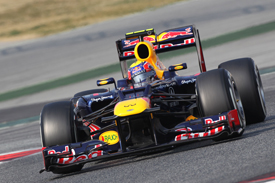 Mark Webber, Red Bull, Catalunya testing 2012