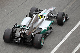 Mercedes wants to win again in 2012