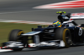 Bruno Senna, Williams, Catalunya 2012