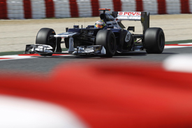 Pastor Maldonado, Williams, Catalunya 2012