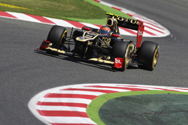 Romain Grosjean, Lotus, Catalunya 2012