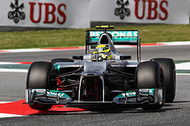 Nico Rosberg, Mercedes