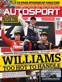 AUTOSPORT magazine cover 170512