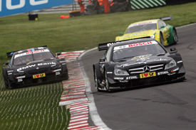 Garry Paffett wins on Home turf at Brands Hatch, DTM