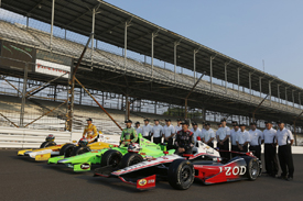 Indianapolis 500 front row 2012
