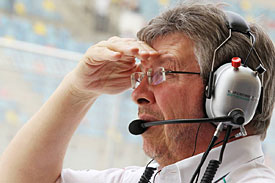 Ross Brawn, Mercedes 2012