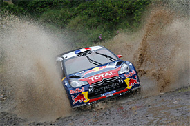 Loeb pulls away on Acropolis Rally