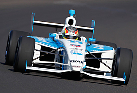 Esteban Guerrieri, Indy Lights, Indianapolis 2012