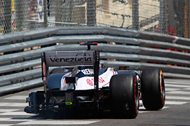Pastor Maldonado, Williams, Monaco 2012