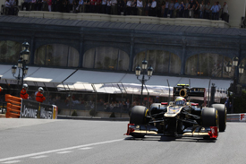 Romain Grosjean, Lotus, Monaco 2012