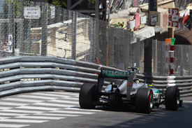 Nico Rosberg, Mercedes, Monaco 2012