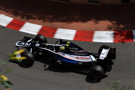 Bruno Senna, Williams, Monaco 2012