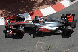 Jenson Button, McLaren, Monaco 2012