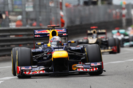 Sebastian Vettel, Red Bull, Monaco 2012