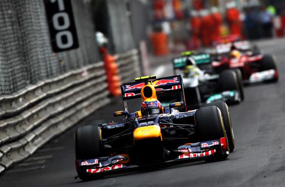 Mark Webber Red Bull 2012 Monaco Grand Prix