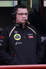 Eric Boullier Lotus F1 2012
