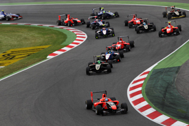 GP3 start Barcelona 2012