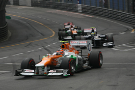 Nico Hulkenberg, Force India, Monaco 2012