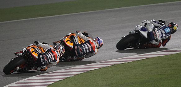 Jorge Lornezo leads Honda