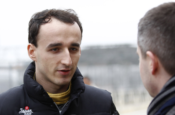 Robert Kubica Lotus 2011 Jerez test