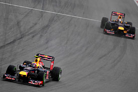red Bull Mark Webber Sebastian Vettel