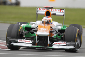 Paul di Resta, Force India, Montreal 2012