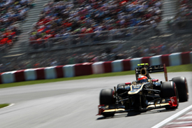 Romain Grosjean, Lotus, Montreal 2012