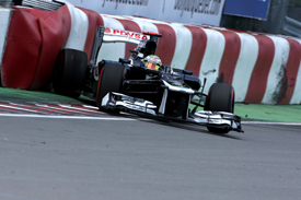 Pastor Maldonado, Williams, Montreal 2012