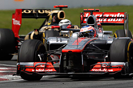 Jenson Button, McLaren, Canada, 2012
