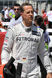 Michael Schumacher Canada GP 2012