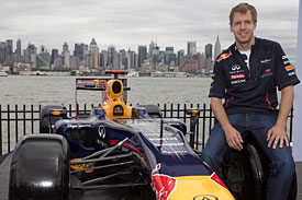 Sebastian Vettel New Jersey