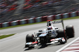 Sauber not ruling out a win in 2012
