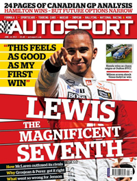 AUTOSPORT cover 140612
