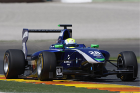 Will Buller Carlin GP3 Valencia test 2012
